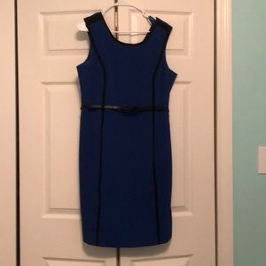 Blue Business Style Dress